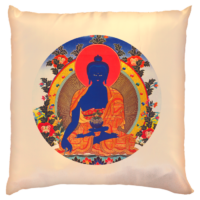Gyógyító Buddha díszpárna huzat