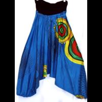 Aladdin nadrág kék mintás