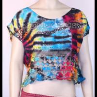 Csipke batik felső B
