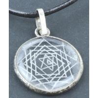 Sri Yantra amulett medál 3