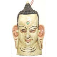 Buddha maszk festett 7