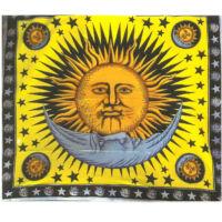 Nap-hold sárgában
