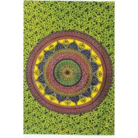 Mandala zöldben