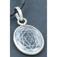 Sri Yantra amulett medál 1