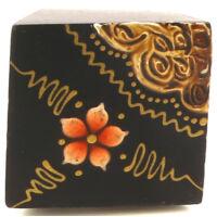 Fa gyűrű narancssárga virág
