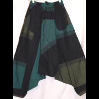 Aladdin nadrág szürke-zöld fekete L/XL