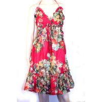Rózsás ruha pirosas
