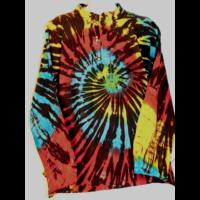 Batikolt színes ing  L