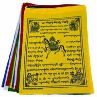 Buddhista imazászló szélparipás 25 lap 17*21 cm