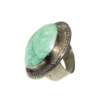 Türkiz köves gyűrű