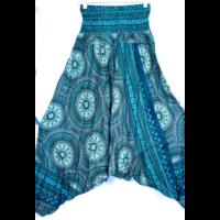 Aladdin nadrág/ruha mintás türkiz