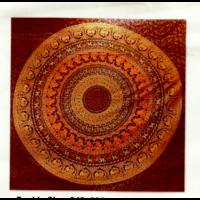 Mandala textil  elefántos p