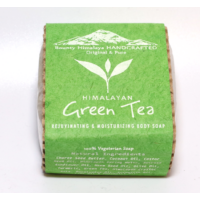 Green tea Himalayan szappan