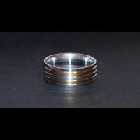 Forma gyűrű karika csíkos