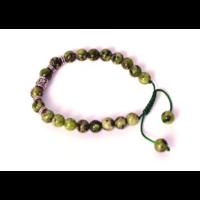 Zöld jáspis mantragyöngy