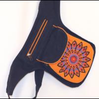 Övtáska Narancs Mandala