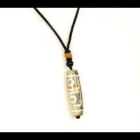 DZI amulett 4-szemű a négyszeres áldásért