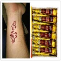 Gyors henna barna indiai 1 tölcsér