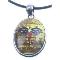 Egyedi Buddha szeme amulett