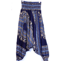 Aladdin nadrág/ruha mintás kék