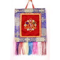 Mantra mandala fali brokát több szín 30*28