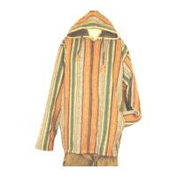 Kabát csíkos barnás több méret