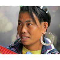 Hmong -törzsi- fülbevaló  A