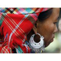 Hmong -törzsi-  fülbevaló több méret