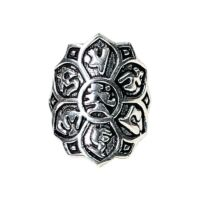 Lótusz gyűrű mantrával