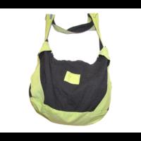 Zöld-fekete nagy táska