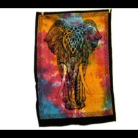 Textilkép elefánt
