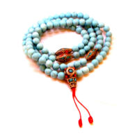Türkiz tibeti gyöngyökkel a védelemért