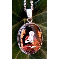 Egyedi Buddha amulett medál 1.