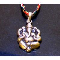 Ganesha kis medál ezüst_product