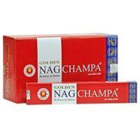 Golden Nag Champa füstölő piros