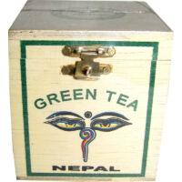 Green Tea fadobozban C03