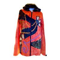 Őszi kabátka narancssárga L/XL