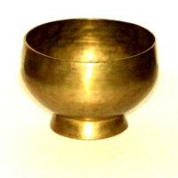 Hangtál kézi antik talpas  884 gr.
