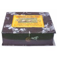 Speciális 12 fajta nepáli tea válogatás ünnepi csomagolásban