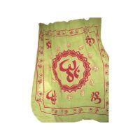 OM lótuszban - zöld textilkép