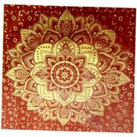 Arany mandala textil