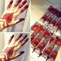 Gyors henna Cherry Red vörös 1 tölcsér