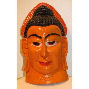 Buddha maszk festett 1