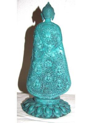 Buddha türkiz álló_product