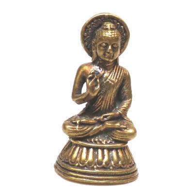 Áldó Buddha szobrocska