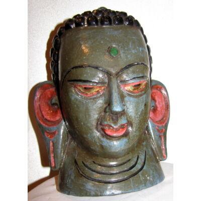 Buddha maszk festett 4