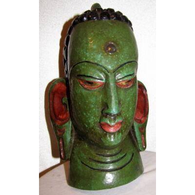 Buddha maszk festett 5