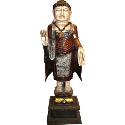Buddha szobor  fa  32 cm_product