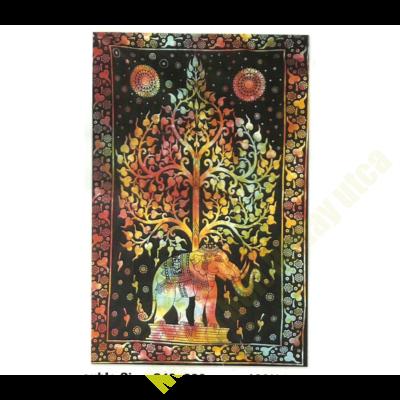 ÉLetfa elefánttal színes