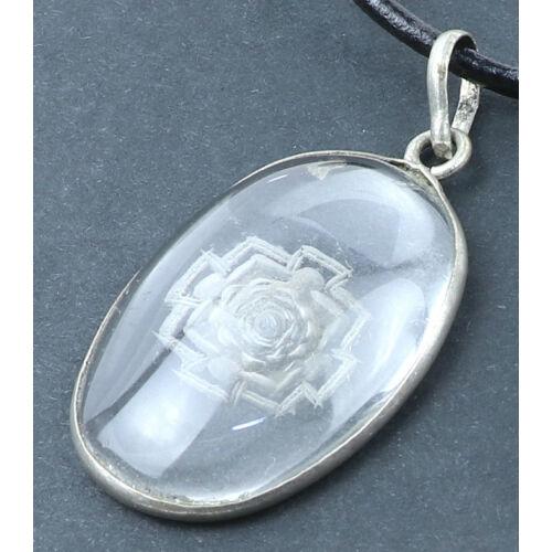 Kalacsakra mandala amulett medál